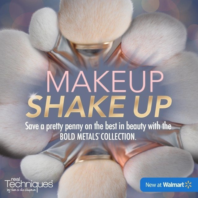 Makeup Shake Up with a Bold New Line of Makeup Brushes at Walmart