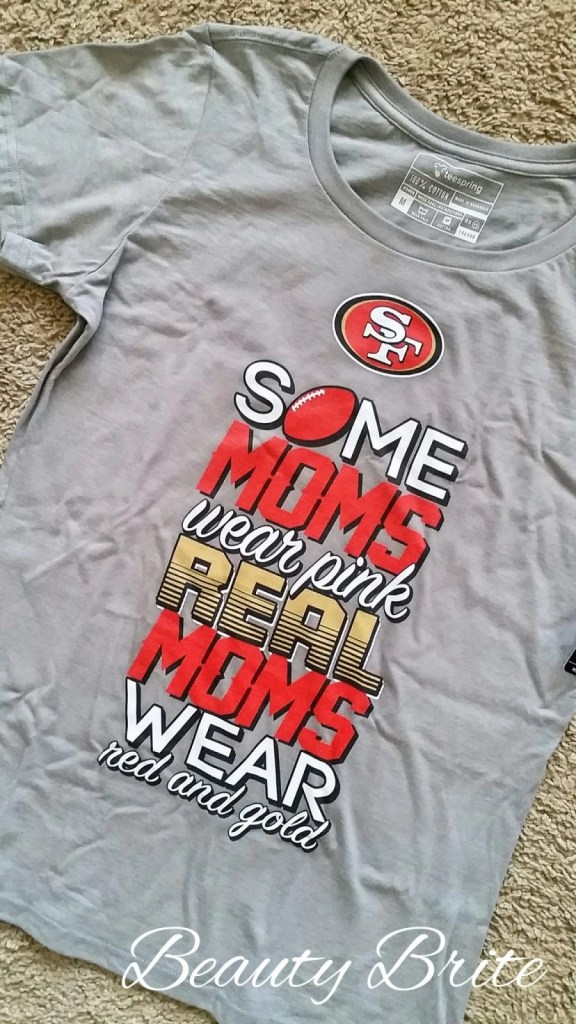 Moms support 49ers beautybrite