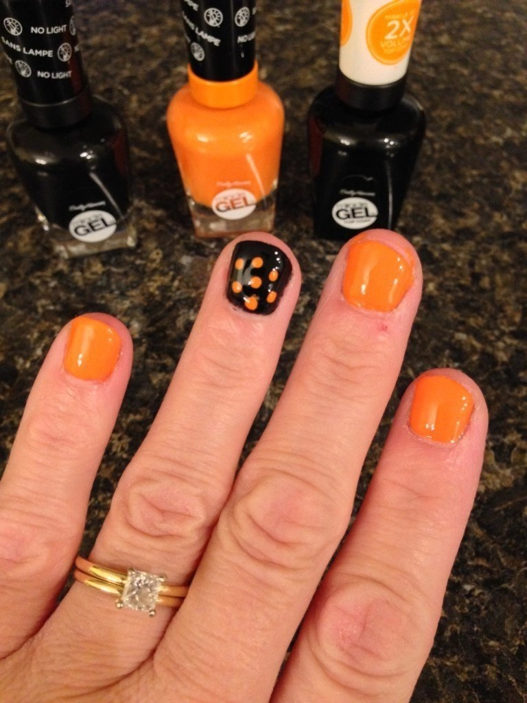 Spooky Fun Four Your Eyes and Nails