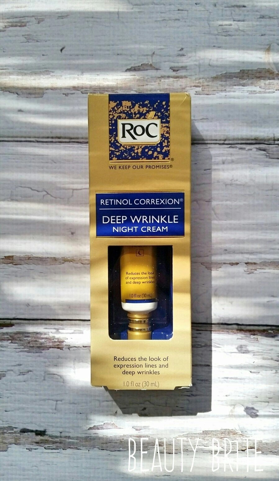 I'm starting the RoC® Retinol Resolution to kick start the holiday season