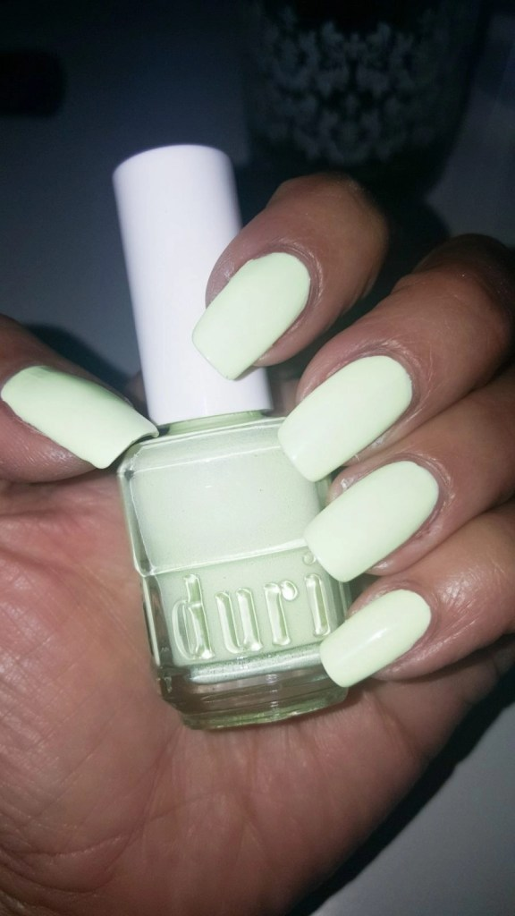 Duri weekend in Dubai nail polish