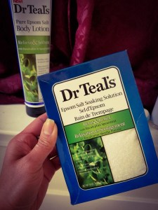 Dr Teals Epsom salt Eucalyptus Soaking Solution