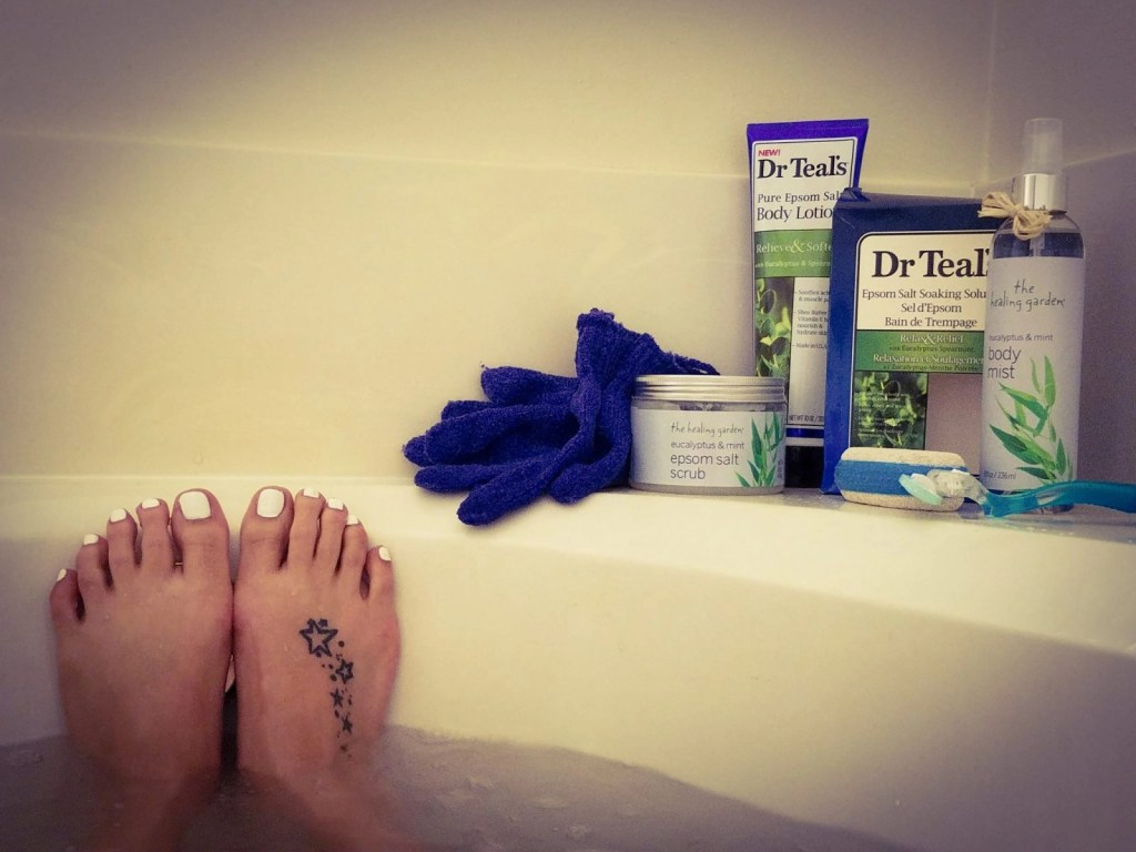 Relax While Soaking Your Sore Muscles Away