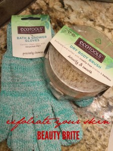 Stocking up on EcoTools Bath Essentials