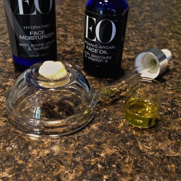 EO® Hydrating Face Moisturizer and EO® Organic Argan Face Oil