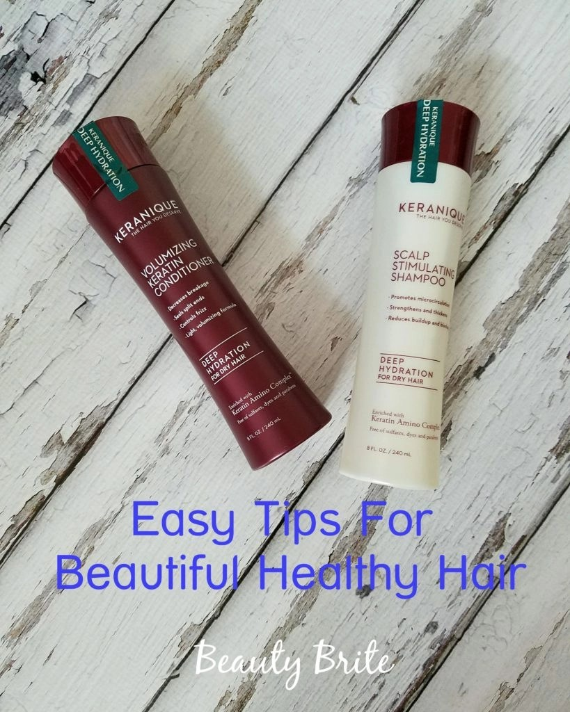 Easy Tips For Beautiful Healthy Hair