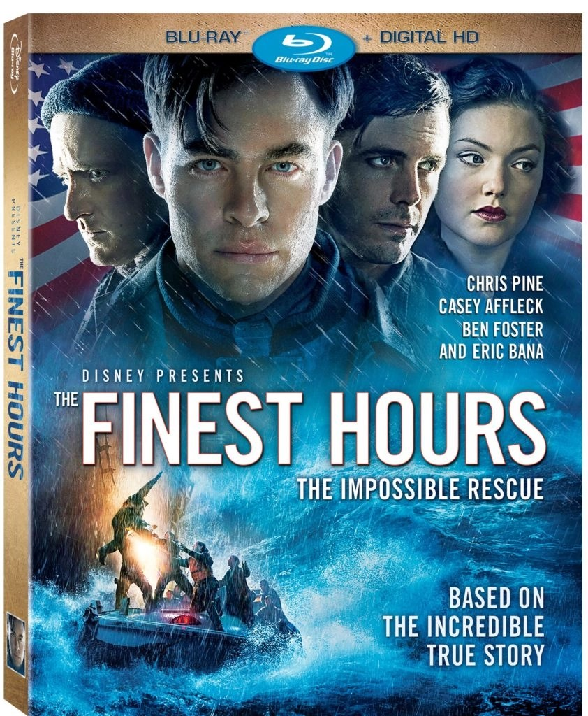 A Feel Good Movie For Your Long Weekend - The Finest Hours US Blu-ray + Digital HD