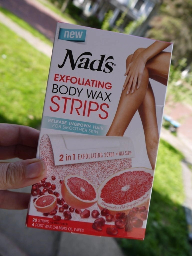 Nad's Exfolitating Body Wax Strips