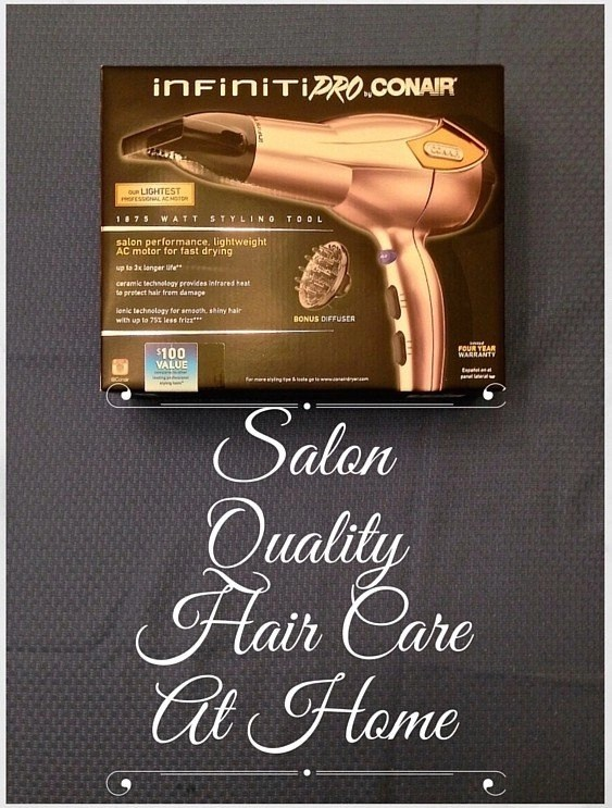Salon Quality HairCare At Home - Infinity Pro by Conair hair dryer in Rose Gold