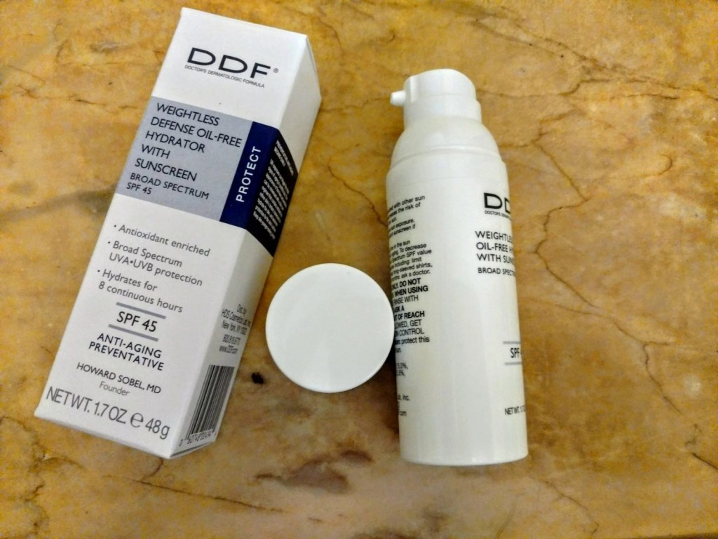 DDF Weightless Defense Oil-Free Hydrator with Sunscreen Broad Spectrum SPF 45