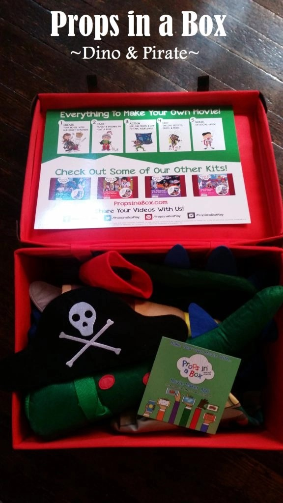 Encourage Imagination With Props - Props in a box Pirate