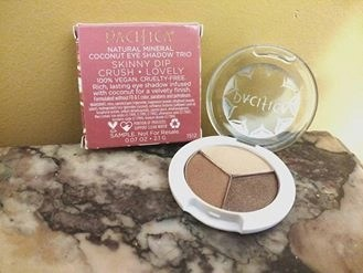 Pacifica Natural Mineral Coconut Eyeshadow Trio