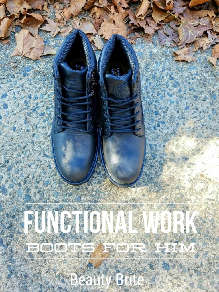 Functional Work Boots For Him