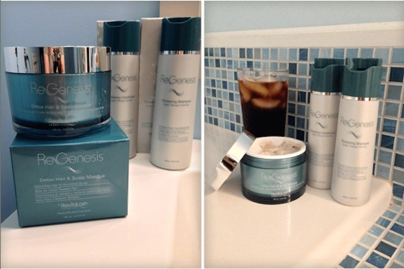 ReGenesis Hair Care - Thickening Shampoo, Thickening Conditioner, Hair Detox & Repair Masque