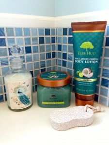 Tree Hut Bath Products I already have-Coconut Lime Sugar Scrub and Body Lotion