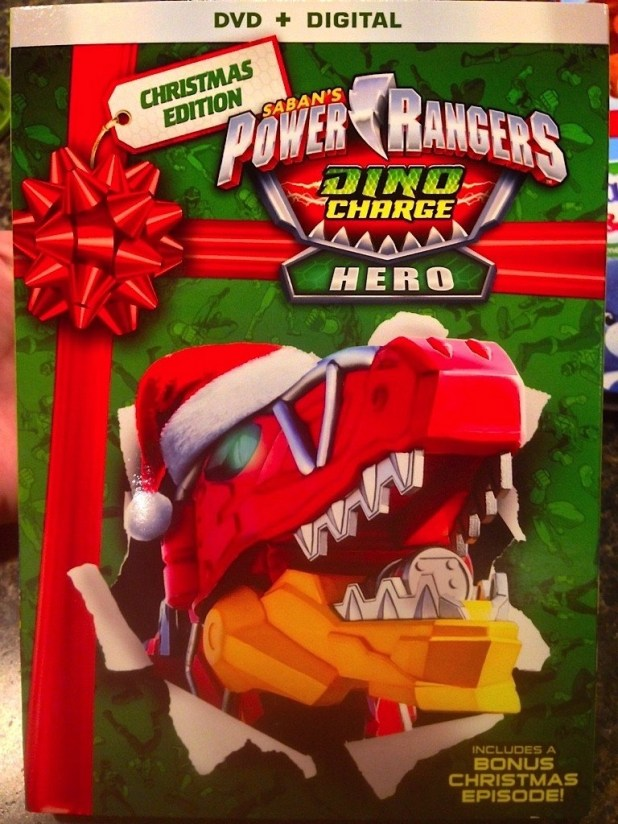 DVD-Power Rangers Dino Charge Hero