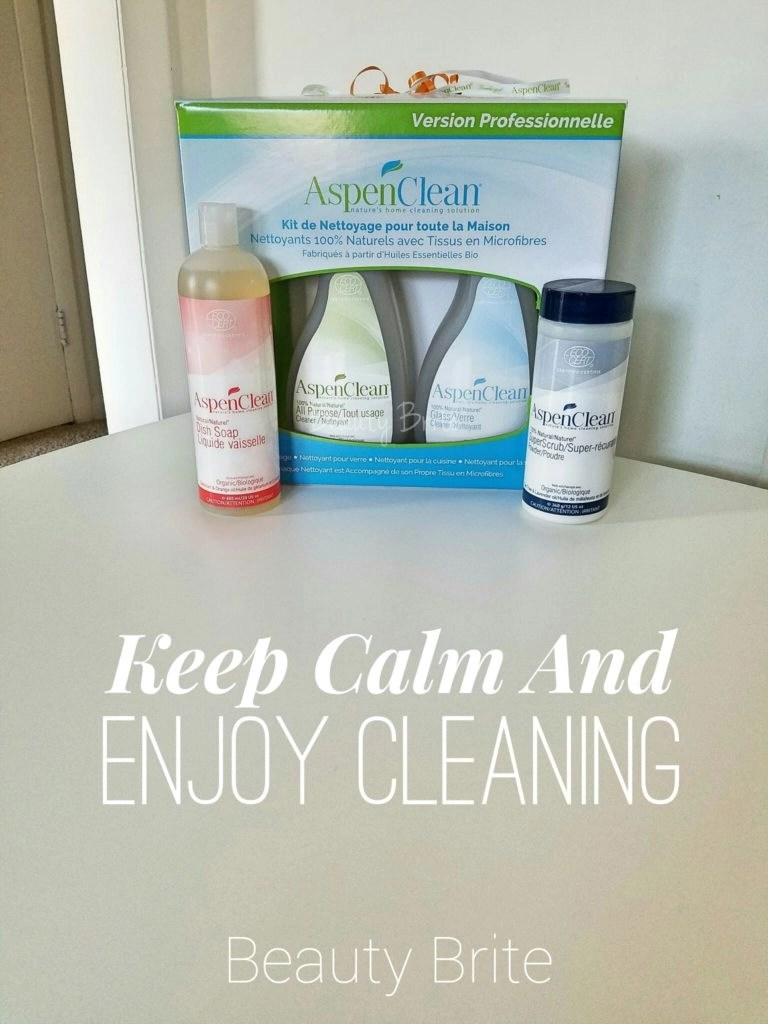 Keep Calm And Enjoy Cleaning