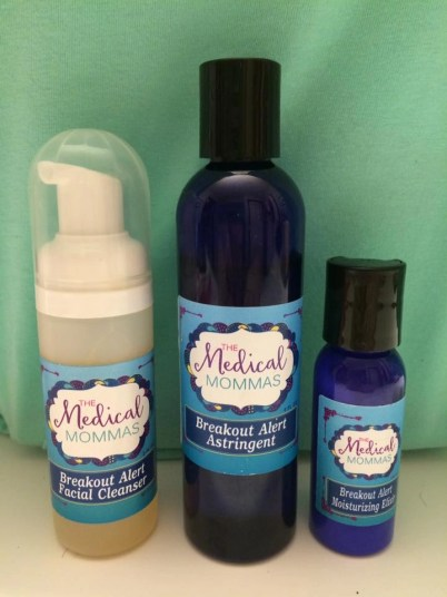 Medical Mommas Breakout Alert Facial Cleanser Astringent Moisturizing Elixir
