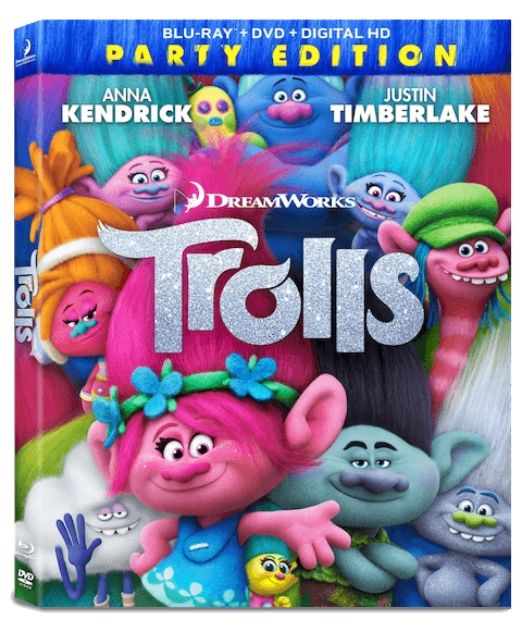Start the Party with DreamWorks Trolls on DVD