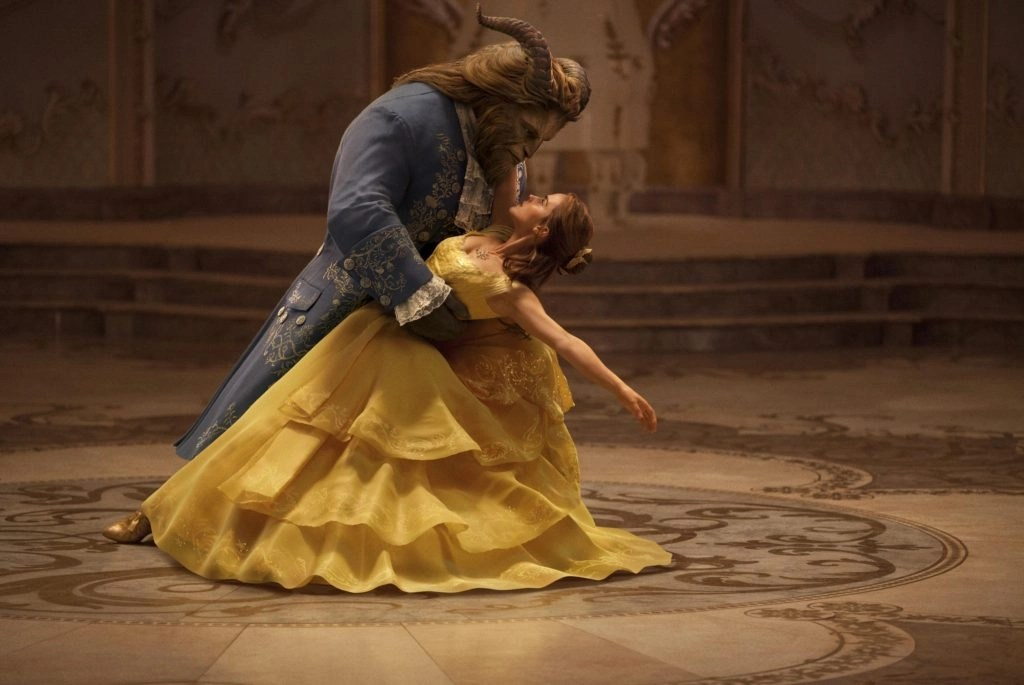 Beauty And The Beast dance pose