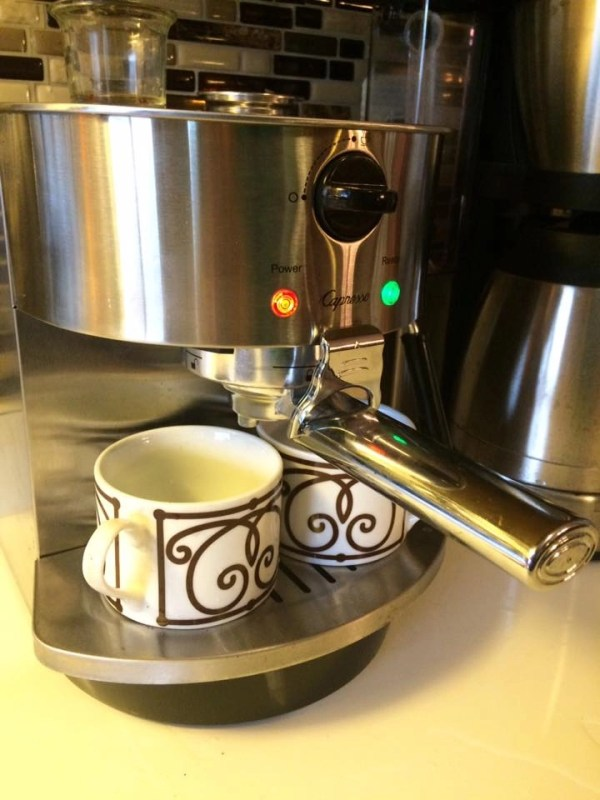 Capresso Stainless Steel Espresso and Cappucino Machine