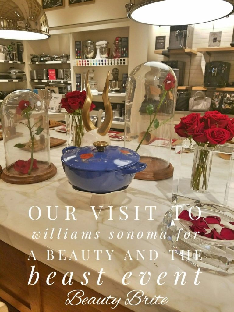 Our Visit To Williams Sonoma For A Beauty And The Beast Event #MyWilliamsSonoma