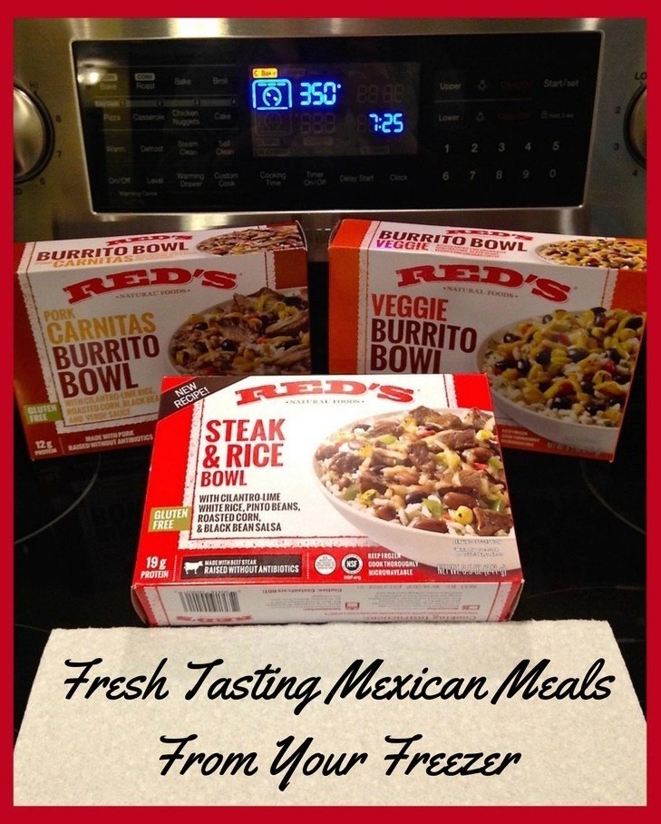 Fresh Tasting Mexican Meals From Your Freezer - Red's All Natural Frozen Foods
