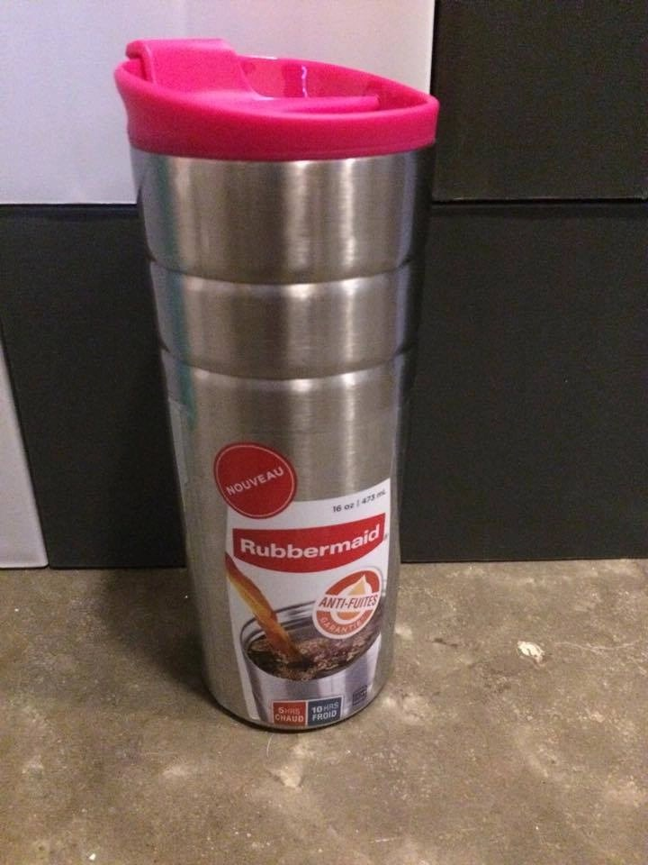 Rubbermaid Leak-Proof Drink Containers