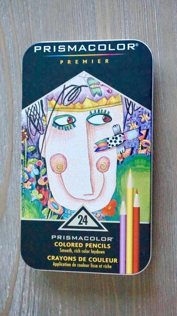 Prismacolor Premier Soft Core Colored Pencil Set Packaging