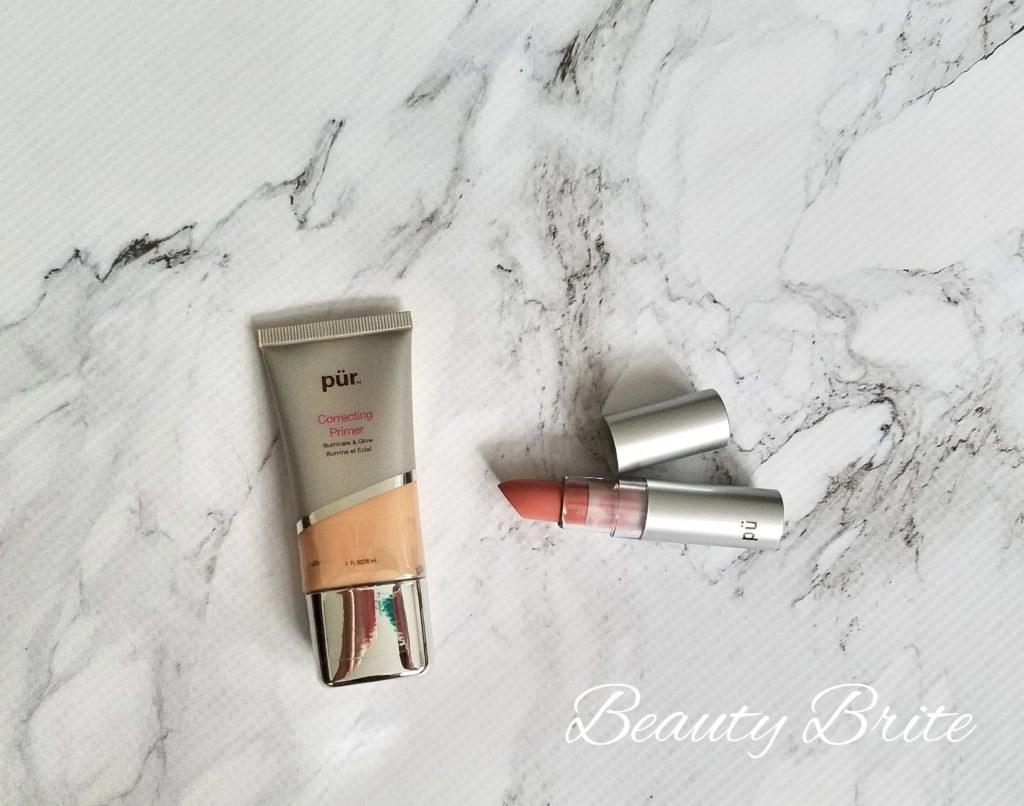 Pur Lipstick and Correcting Primer