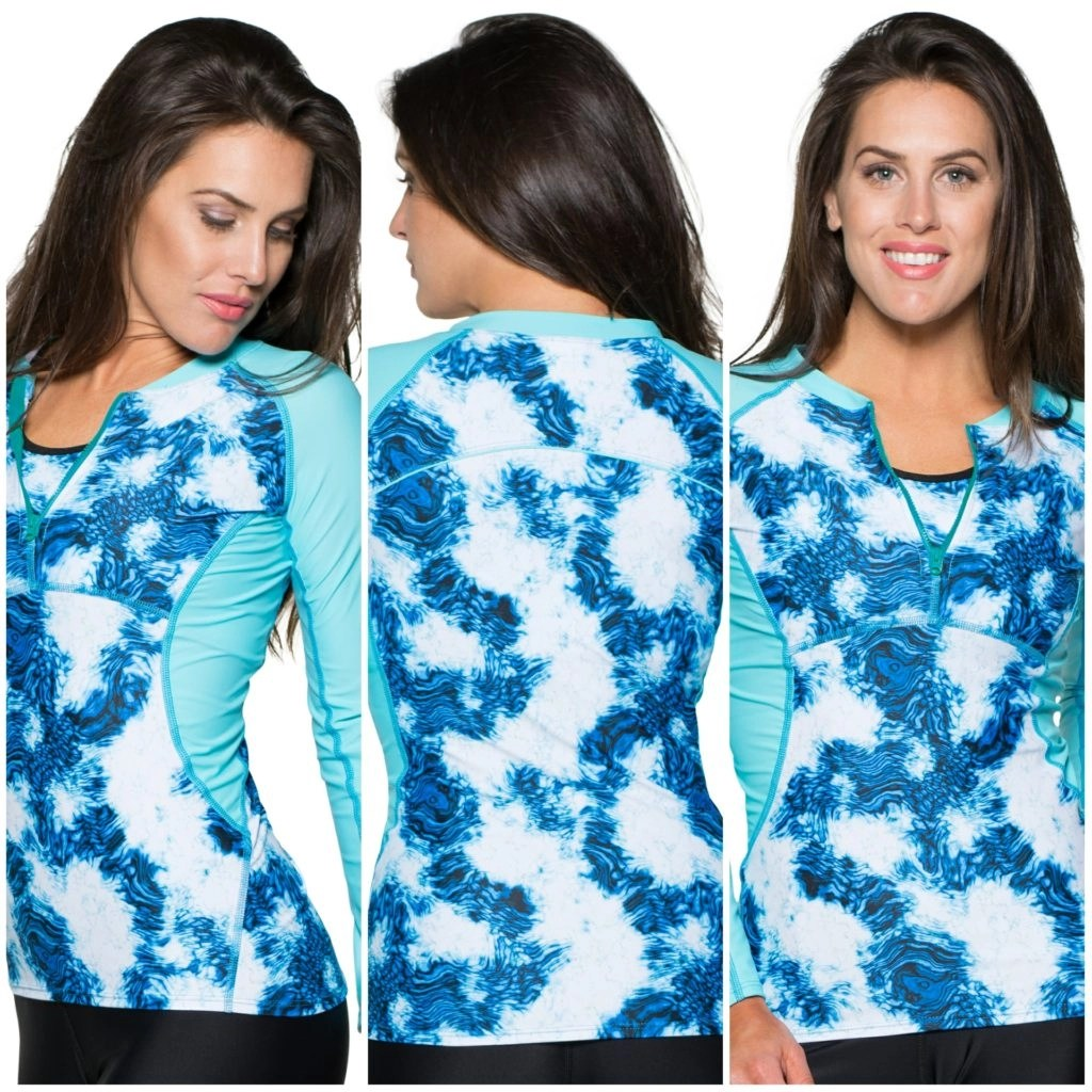 Peaceful Aqua Long Sleeve