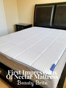 First Impressions Of Nectar Mattress