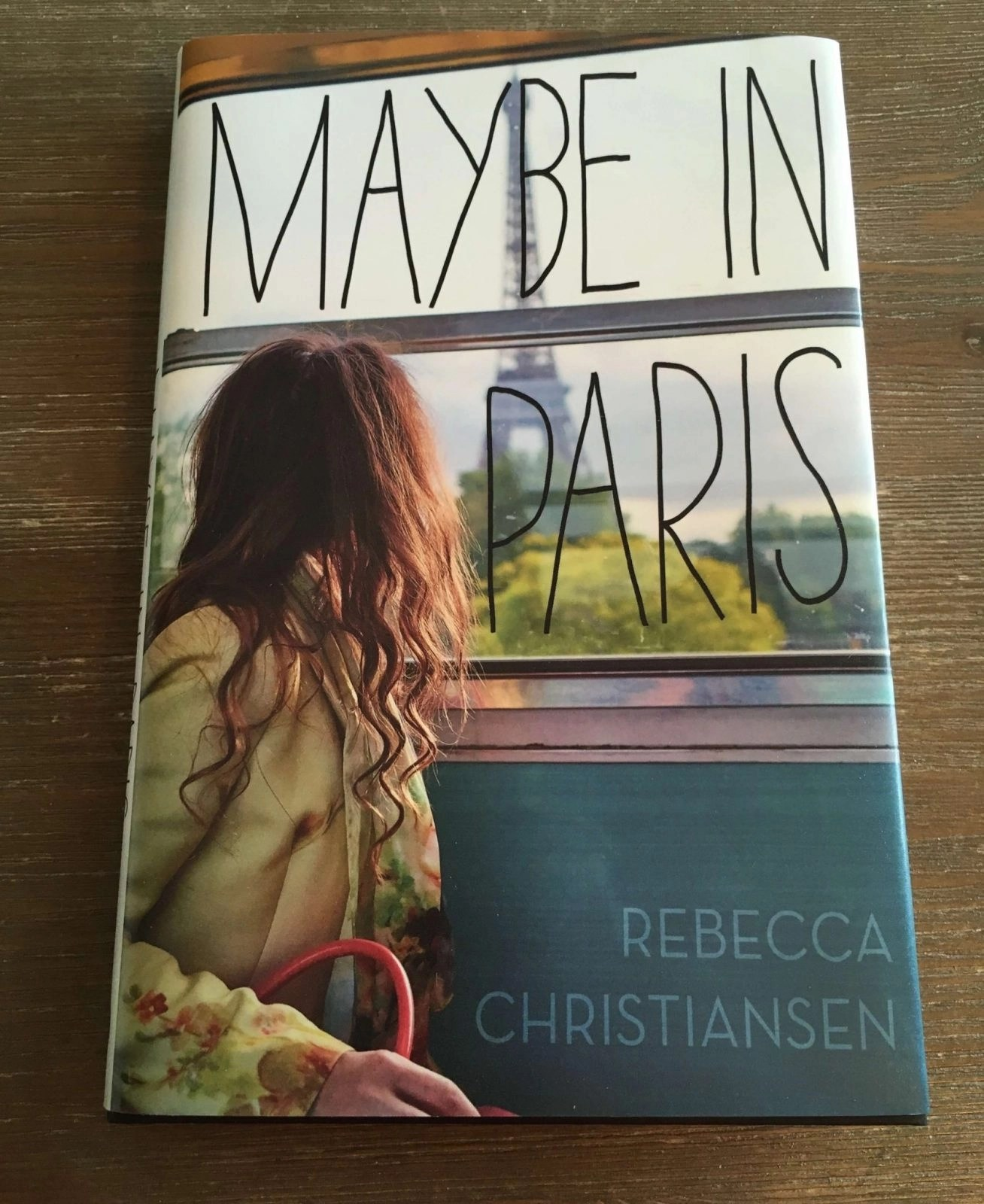 Maybe in Paris Front Cover of Novel