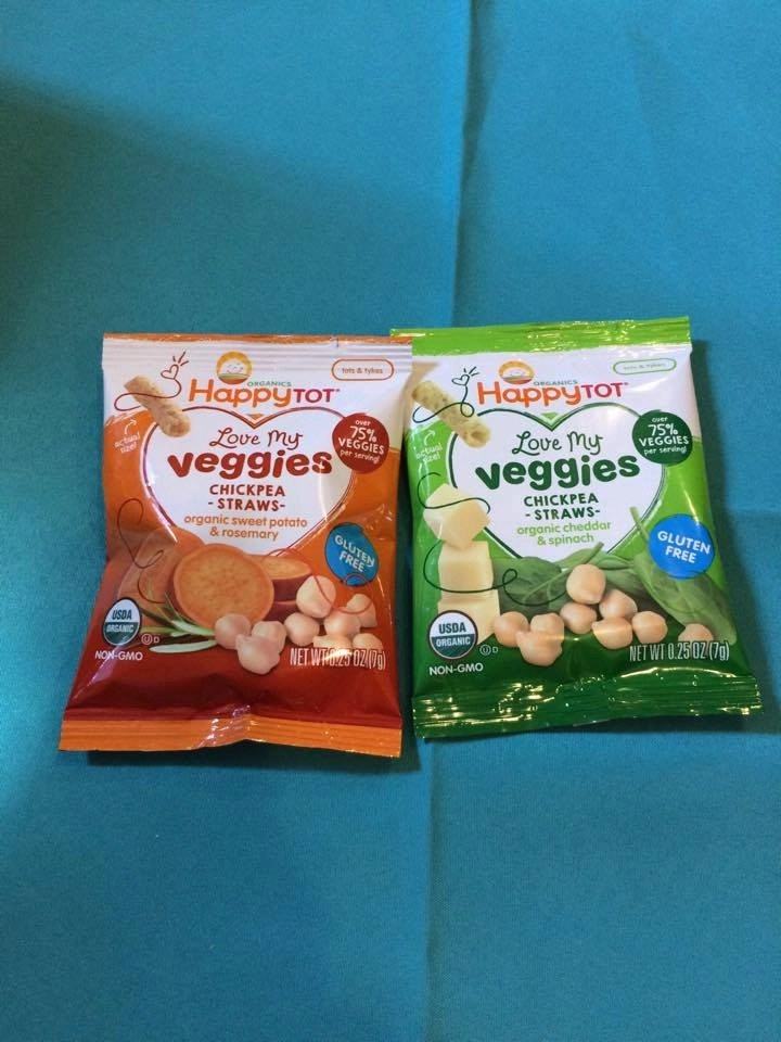 Organic Happy Family Brand Snacks
