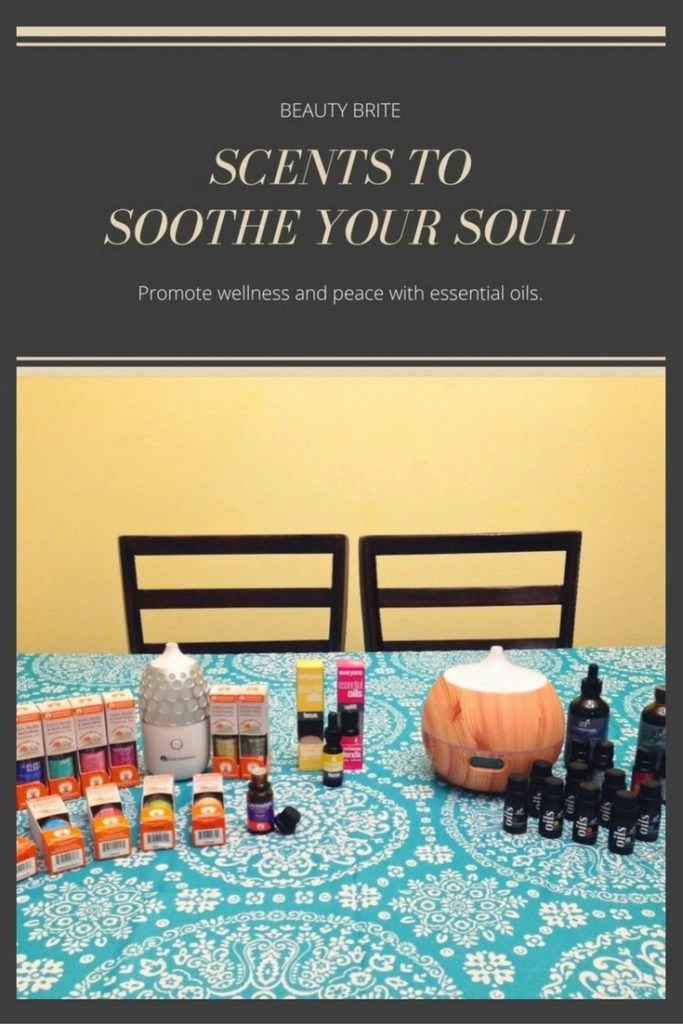 Scents To Soothe Your Soul-artnaturals-Gurunanda-Everyone Products diffuser and essential oils