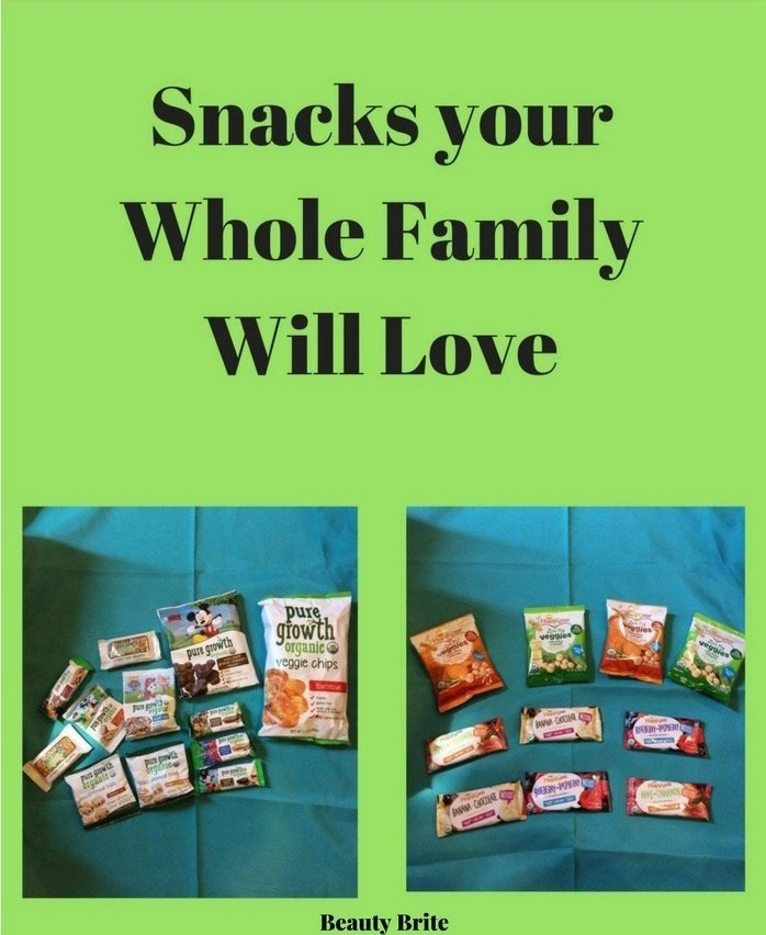Snacks Your Whole Family Will Love-Pure Growth Organic-Happy Family