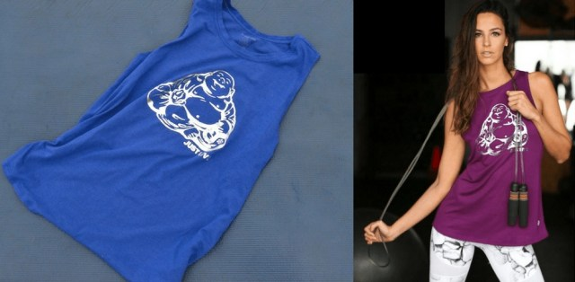 Workout Motivation Essentials - Expression Muscle Tank - Buddha