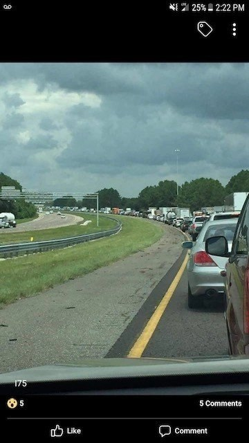 Escaping Irma on I75N