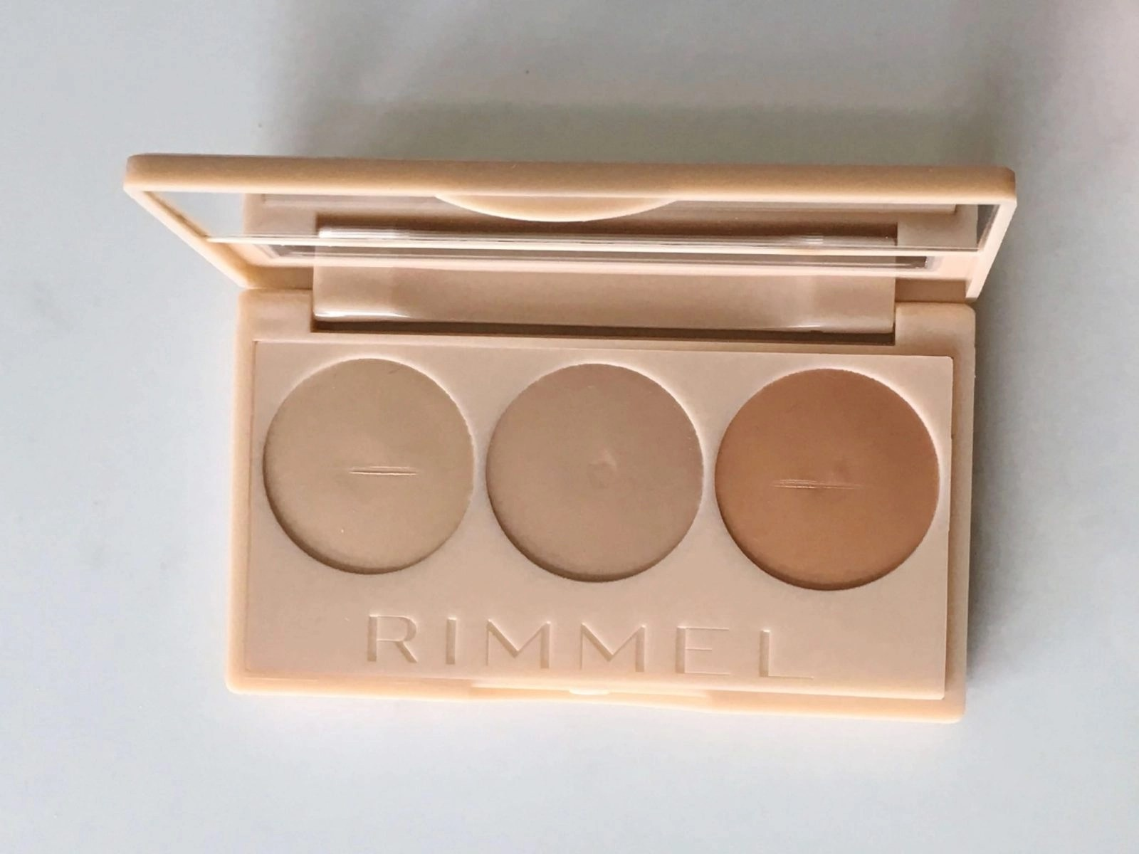 Rimmel Insta Conceal and Contour Palette Opened
