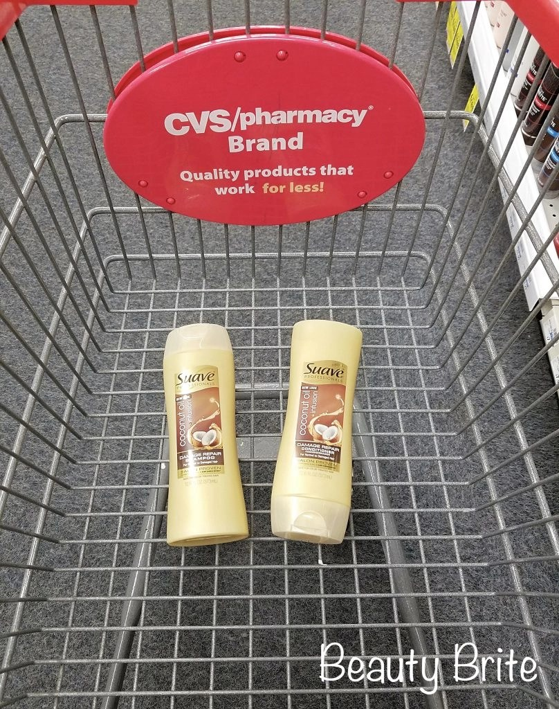 Suave Professionals® Coconut Oil Infusion Damage Repair Shampoo & Conditioner in store