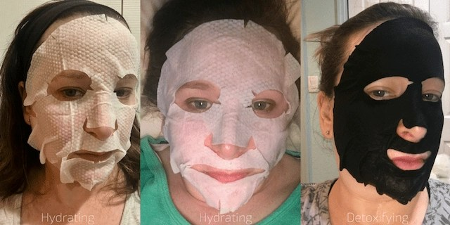 Burt's Bees Sheet Mask Usage