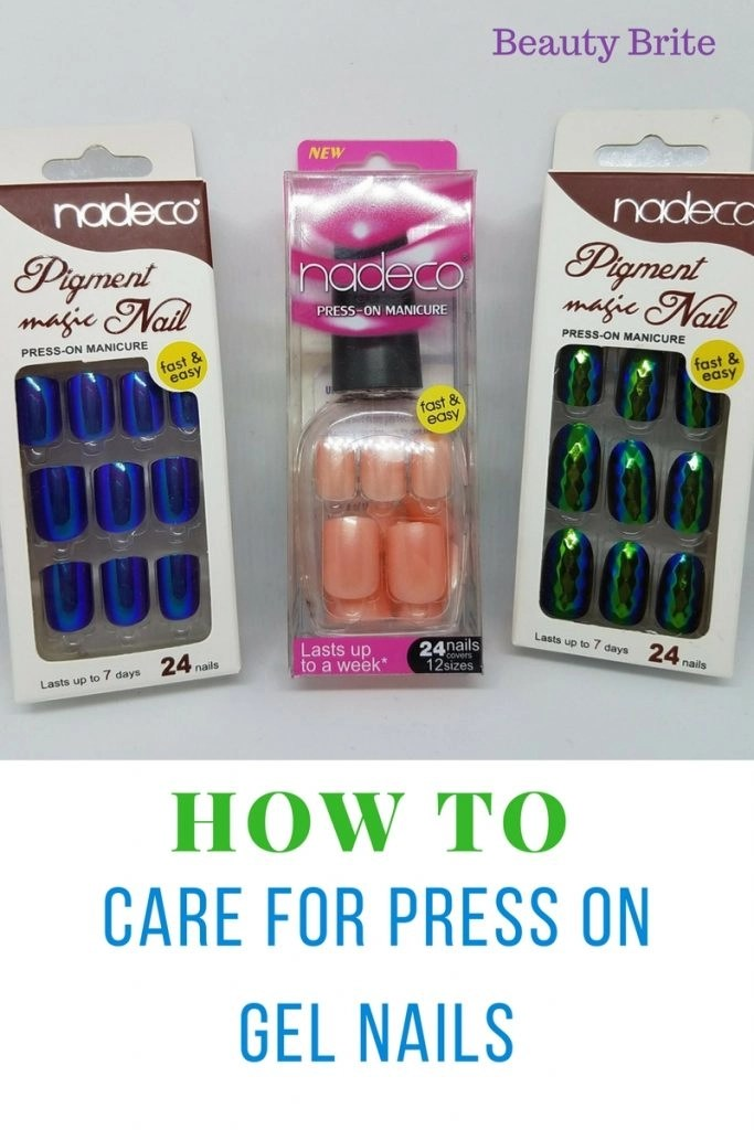 How To Care For Press On Gel Nails