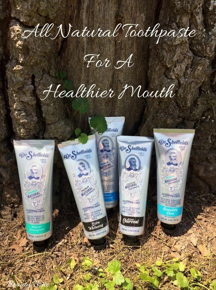 All Natural Toothpaste For A Healthier Mouth-Dr. Sheffield's All-Natural Toothpaste