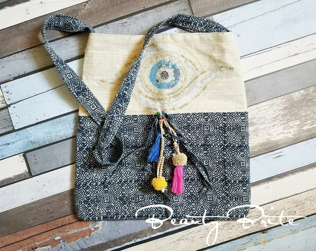 Batik Eye Crossbody Bag