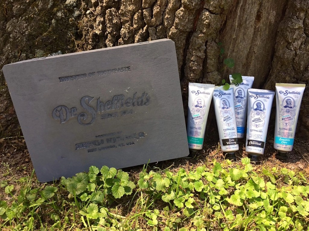 Dr. Sheffield's All-Natural Toothpaste