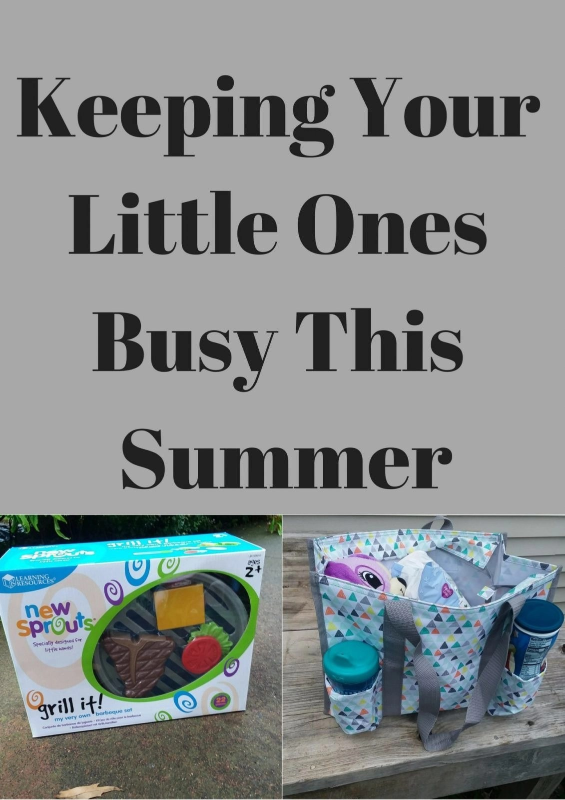 Keeping Your Little Ones Busy This Summer