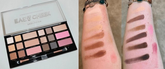 Summer Festival Ready Makeup Profusion - Eye & Cheek Palette and Swatches