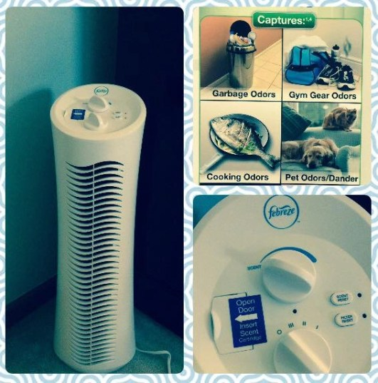 Purify The Air Within Your Home - Febreze Air Purifier Tower