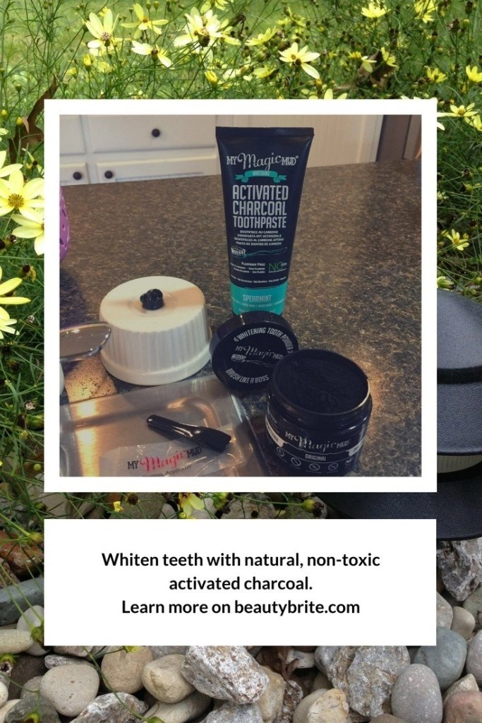Whiten Teeth The Natural Non-Toxic Way - My Magic Mud Whitening Toothpaste and Whitening Tooth Powder