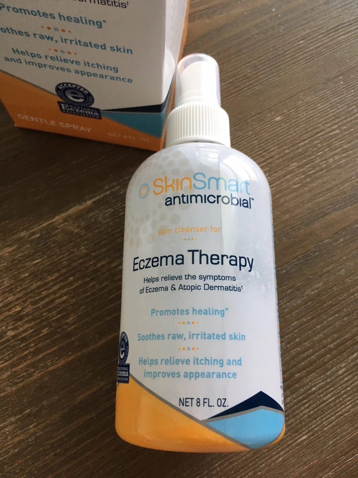 SkinSmart Antimicrobial Skin Cleanser for Eczema Therapy